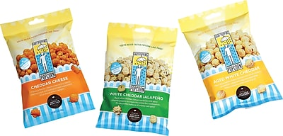 Gary Poppins Cheese Lovers Collection Gourmet Popcorn,