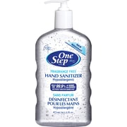 One Step Hand Sanitizer, Fragrance-Free, 473mL