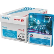 "Xerox® Vitality™ Premier Ultra White 30% Recycled Copy Paper, 8-1/2"" x 11"""