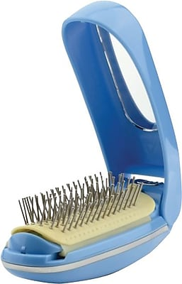 Massage Brush with Built In Mirror