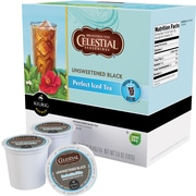 Keurig® K-Cup® Celestial Seasonings® Unsweetened Black Iced Tea, Regular, 24 Pack