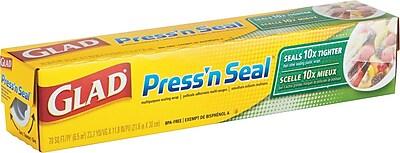 Press'n Seal Plastic Wrap, 70 Square Foot, 12 Rolls Per Carton