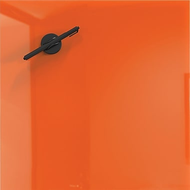 Best-Rite Mosaic Magnetic Glass Markerboard - Orange 16x16