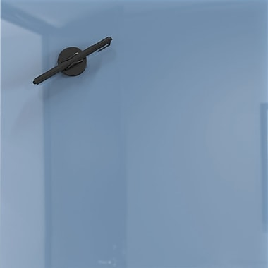 Best-Rite Mosaic Magnetic Glass Markerboard - Denim Blue 16x16