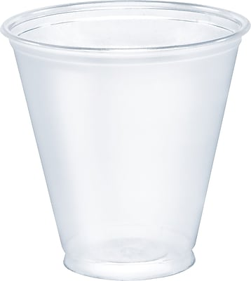 SoloUltra Clear Cups, 5 Oz., Pet, 100/bag