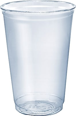 Solo® Ultra Clear Cups, 20 Oz, Pet, 50/Bag, 1000/Ct