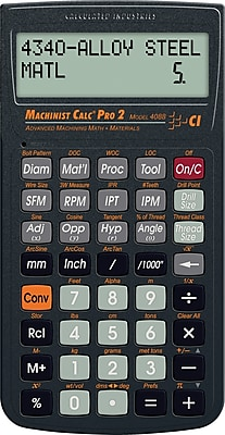 Calculated Industries MachinistCalc Pro 2 Calculator
