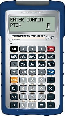 Calculated Industries Construction Master Plus EZ Calculator