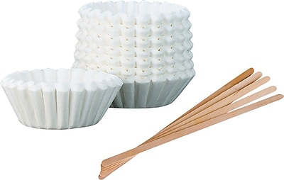 Coffee Filters & Stir Sticks