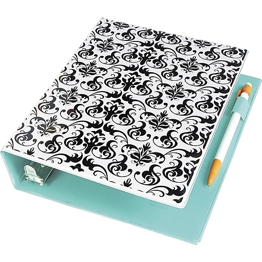 Avery Mini Durable 1-Inch 3-Ring Binder, Damask (18445