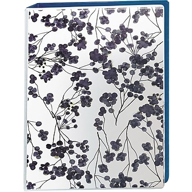 Avery Mini Durable 1-Inch Round Ring Non-View Binder, Floral (18444)