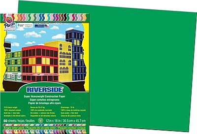 Riverside® Groundwood Construction Paper, 12