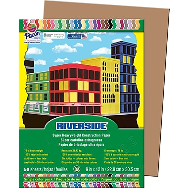 Riverside® Groundwood Construction Paper, 9