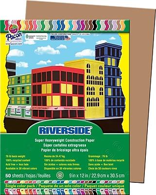 Riverside® Groundwood Construction Paper, 9
