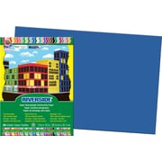 "Pacon Riverside Construction Paper 18"" x 12"", Dark Blue, 50 Sheets (103625)"
