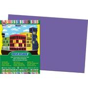 "Pacon Riverside Construction Paper 18"" x 12"", Violet, 50 Sheets (103627)"