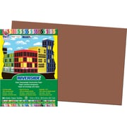 """Pacon Riverside Construction Paper 18"""" x 12"""", Brown, 50 Sheets (103629)"""