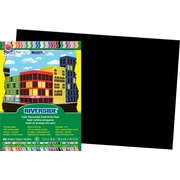 "Pacon® Riverside® Groundwood Construction Paper, Black, 18""(H) x 12""(W), 50 Sheets (RIV03631)"