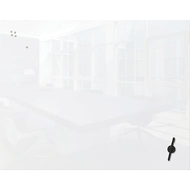 Best-Rite Luxe Glass Magnetic Whiteboard - 78 Diagonal