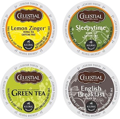 Keurig® K-Cup® Celestial Seasonings® Tea Variety Sampler, 22/Pack