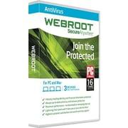 Webroot – Antivirus pour Windows/Mac (jusqu'à 3 utilisateurs) [Téléchargement]