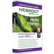 Webroot – Internet Security Complete pour Windows/Mac (jusqu'à 5 utilisateurs) [Téléchargement]
