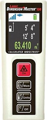 Calculated Industries Laser Dimension Master 130 Distance Measurer