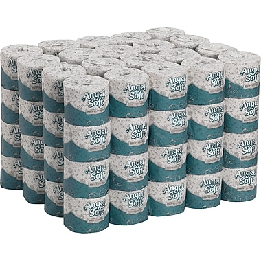 Angel Soft Professional Series™ 2-Ply Premium Bath Tissue, 80 Rolls/Case, 450 Sheets/Roll, White (16880)