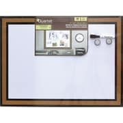 """Quartet Magnetic Combination Board with Cork Frame, 17"""" x 23"""""""
