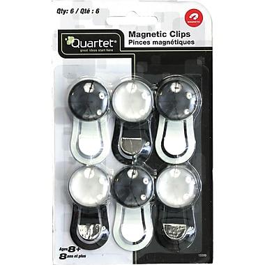 Quartet – Pinces magnétiques, 6/pqt