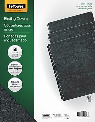 Fellowes® Classic Grain Presentation Covers, 8-3/4x11-1/4