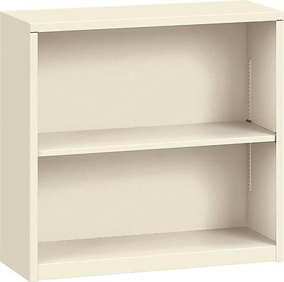 HON Brigade Steel Bookcase, 2 Shelves, 34-1/2