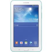 "Samsung Galaxy GT3 SM-T110NBGAXAR 7"" Tablet, 32GB Storage, Android, Blue Green"