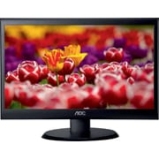 AOC e2450Swd 24-Inch Class LED Monitor, 1920 x 1080 Res, 250 cd/m2 , 5ms, 20M:1DCR, VGA/DVI, Wall Mountable