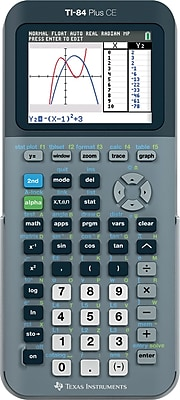 Texas Instruments TI-84 Plus CE Graphing Calculator, Silver