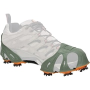 STABIL  Turfgrabbers Tractioncleats, Green/Orange, Extra-Small, Women's 5-7, Pair
