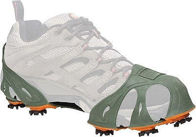 STABIL Turfgrabbers Tractioncleats, Green/Orange, Large, Men's 10.5-12.5, Pair