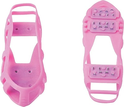STABILicers Walk Icecleats, Pink, Medium, Men's 7.5-10/Women's 8.5-12, Pair
