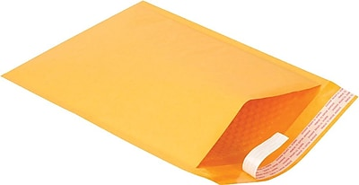 Staples Self-Seal Cushioned Mailers, 9-1/2
