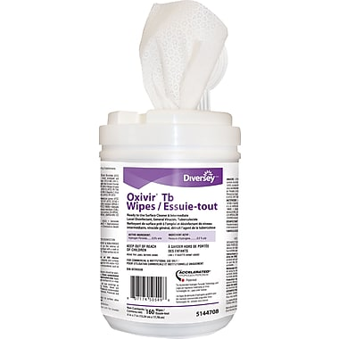 Oxivir Disinfectant Wipes, 160 Sheets