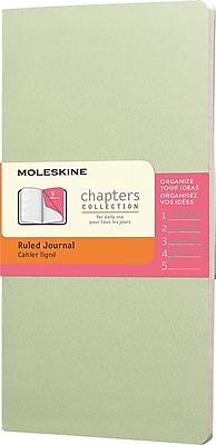 Moleskine Chapters Journal Slim Pocket Ruled Soft Cover 3