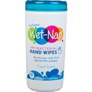 Wet-Nap® Antibacterial Hand Sanitizing Wipes, 40 Count Canisters