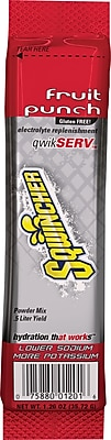 Sqwincher QwikServ Fruit Punch, 16.9oz. 8/Pack