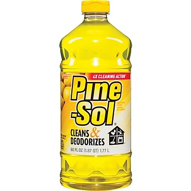 Pine-Sol® All Purpose Cleaner, Lemon, 60 oz.