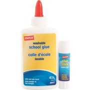 Staples® School Glue, 4 oz., with Stick