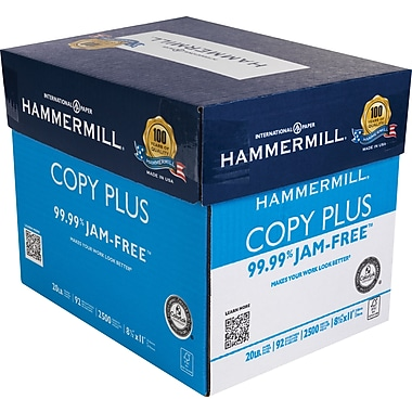 HammerMill® Copy Plus Copy Paper, 8.5