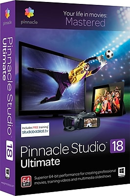 Pinnacle Studio 18 Ultimate for Windows (1 User) [Download] 1557635