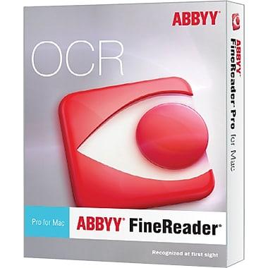 ABBYY – Logiciel professionnel de reconnaissance des caractères ROC FineReader Pro pour Mac (1 utilisateur) [téléchargement]
