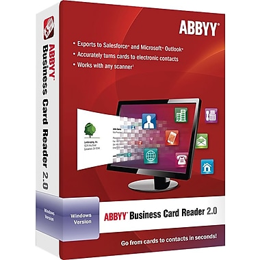 ABBYY Business Card Reader 2.0 for Windows (1 User) [Download]