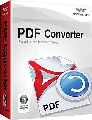 Wondershare PDF Converter Pro for Windows (1-User) [Download]